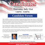 Treasure Coast Candidate Forum for US Congress, Florida Senate, and FL House